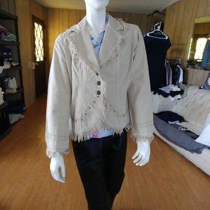 NWT Gretty Zueger Western Style Jacket